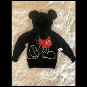 Mickey Mouse hoodie (new)